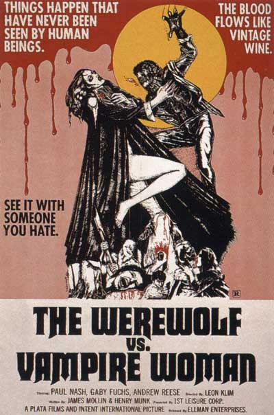 La noche de Walpurgis o The Werewolf and the Vampire woman