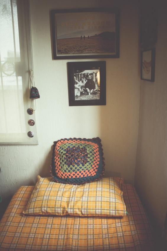 La habitación de Raúl.