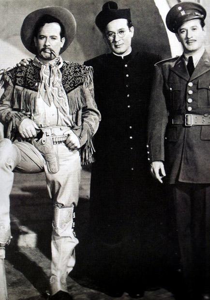 Lorenzo, Juan de Dios y Víctor Andrade. Los tres huastecos.