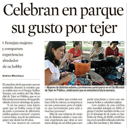 Periódico EL NORTE, Sección Vida!, Domingo 9 de junio.