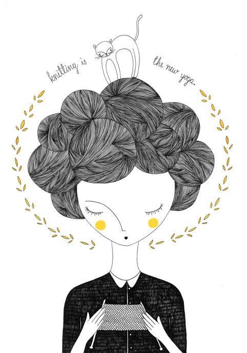 Ilustración hecha por Vhana Trejo