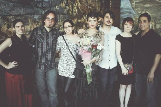 Ilsa, Carlos, Susana, Manana y Oscar, a family portrait