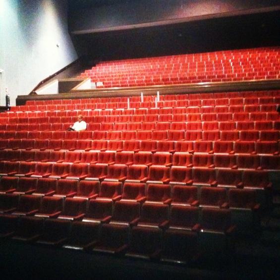Ensayo general en el Teatro de la UANL