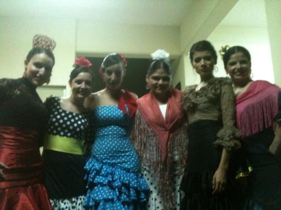 Alma, Andrea, Marcia, Elena, Lix y Malú.