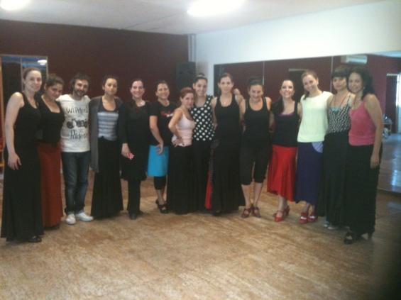 Fin de curso con La Lupi en el Centro de Arte Flamenco