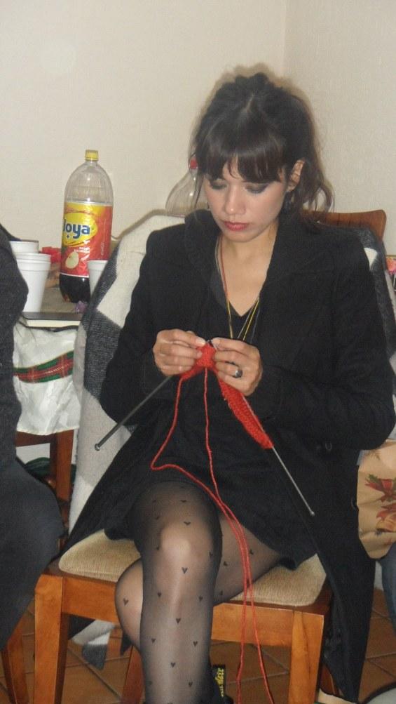 Tejiendo en Navidad