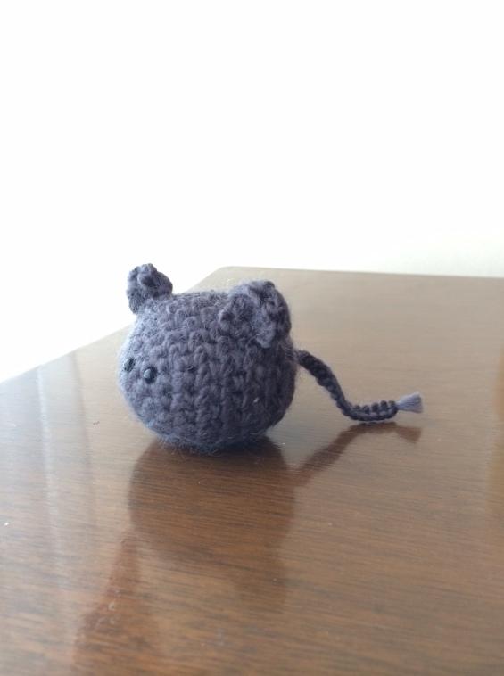 ratoncito crochet II