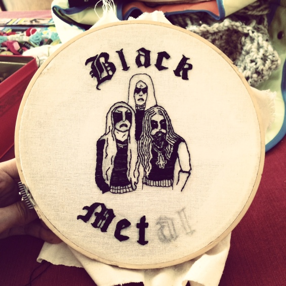 Gorgoroth Embroidery IV