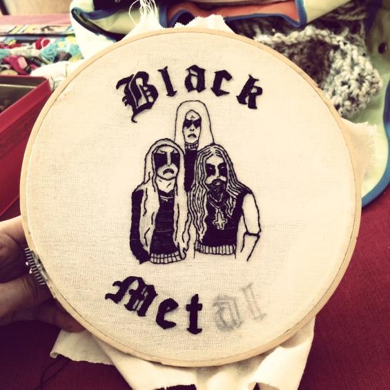 Gorgoroth Embroidery IV