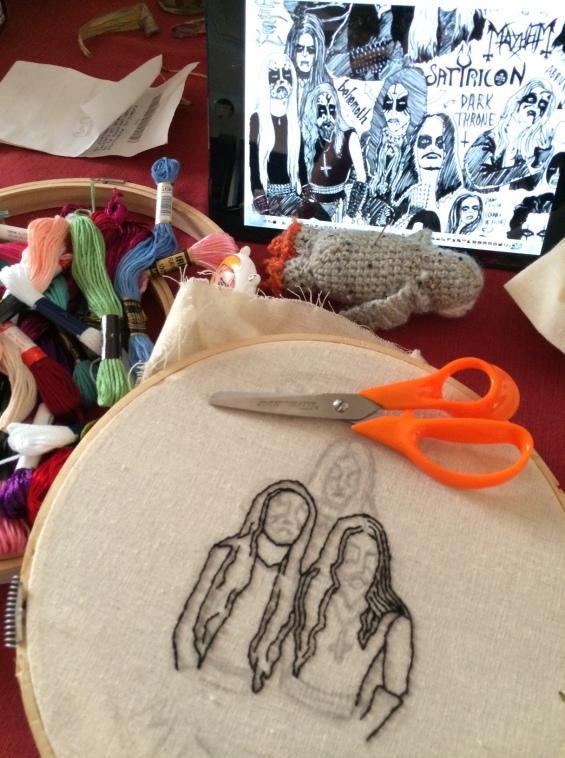 Gorgoroth Embroidery I