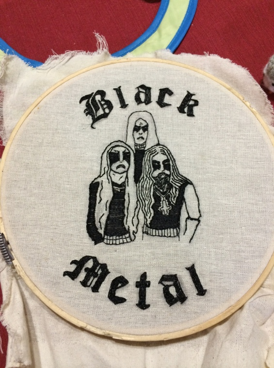 Gorgoroth Embroidery VI