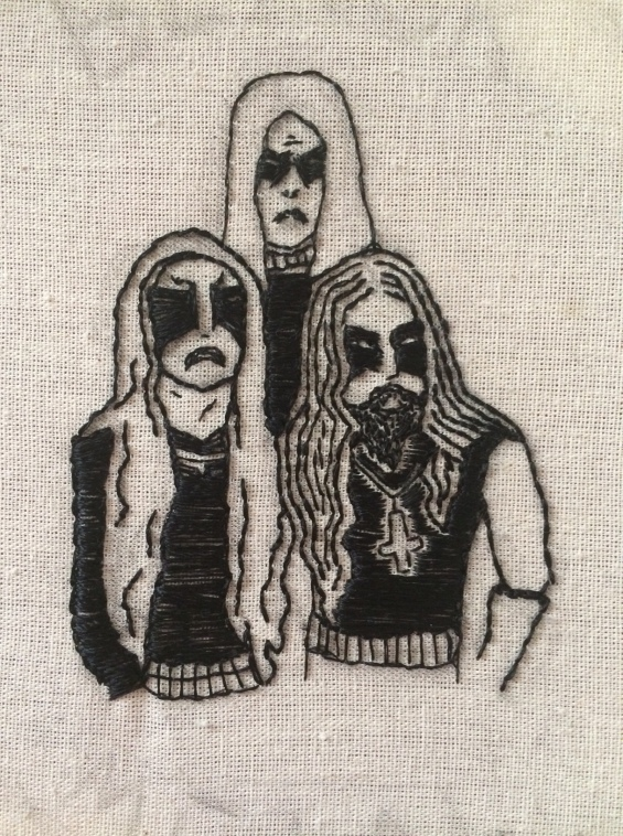 Gorgoroth Embroidery III