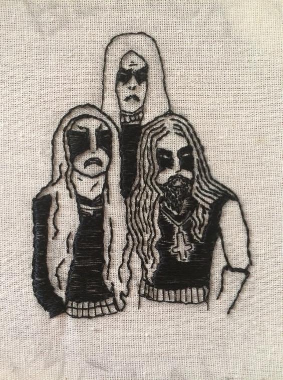 Gorgoroth Embroidery III