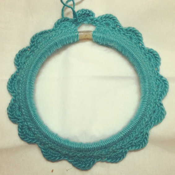Crocheted loop