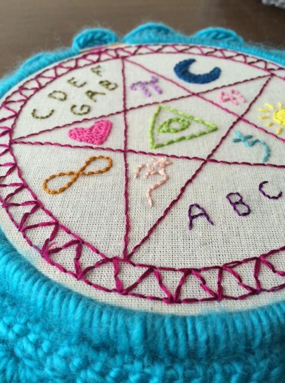Sigil embroidery
